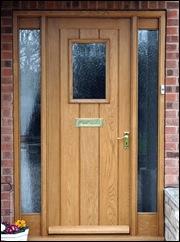 exterior entry door