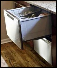 dishwasher drawer