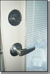 Lever style door knob for accessibility