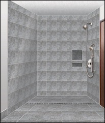 Linear Drain Shower Design